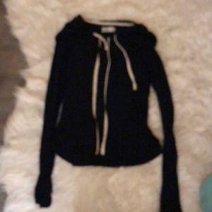 Hollister Jackets & Coats - Hollister navy zip up